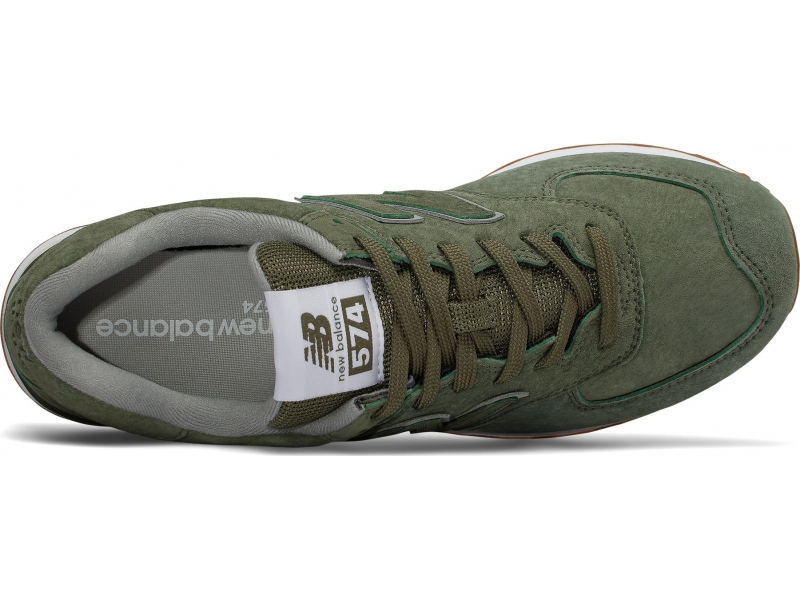 New Balance ML574 T2 Dark Covert Green