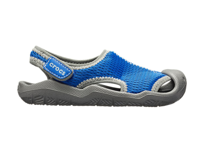 Crocs™ Swiftwater Mesh Sandal Kid's Blue Jean
