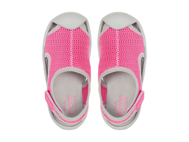 Crocs™ Swiftwater Mesh Sandal Kid's Candy Pink