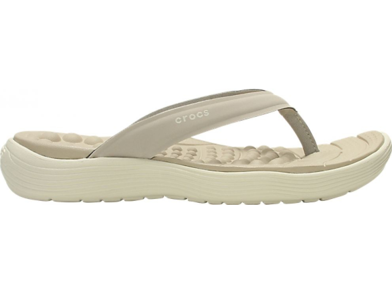 Crocs™ Reviva Flip Women's Cobblestone/Stucco