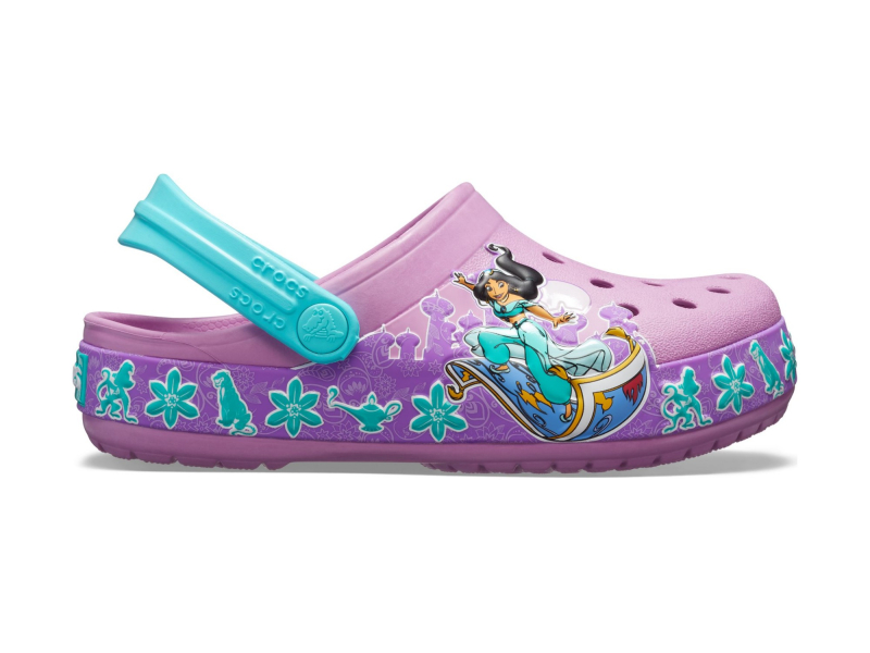 Crocs™ Funlab Jasmine Band Clog Kid's Violet