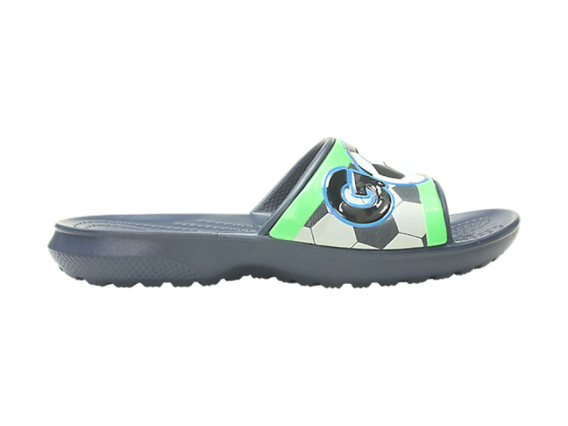 Crocs™ Funlab Sports Fan Slide Kid's Navy