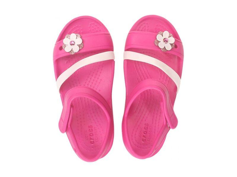 Crocs™ Lina Charm Sandal Kid's Candy Pink