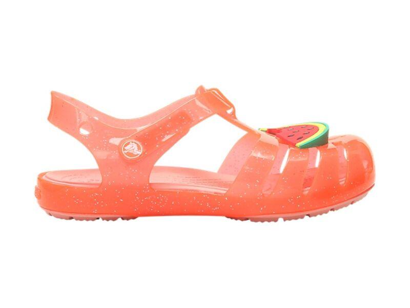 Crocs™ Isabella Charm Sandal Kid's Bright Coral