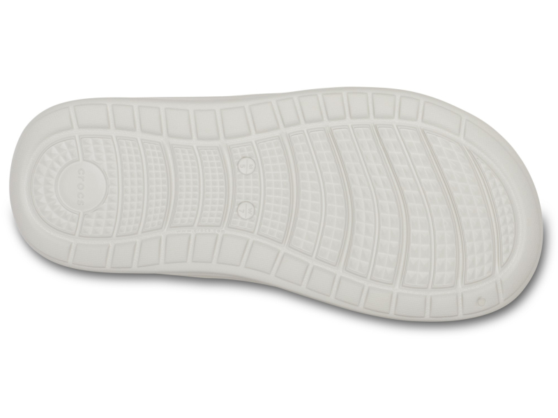 Crocs™ Reviva Flip Pearl White/Citrus