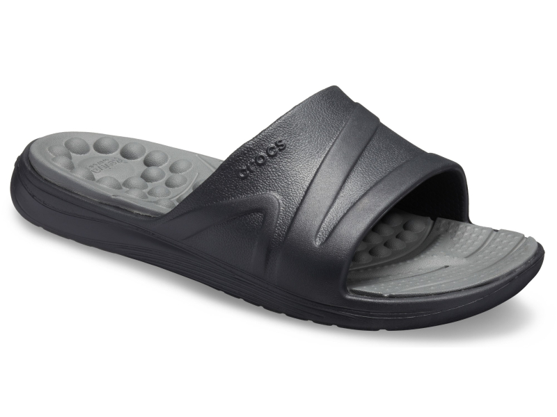Crocs™ Reviva Slide Black/Slate Grey