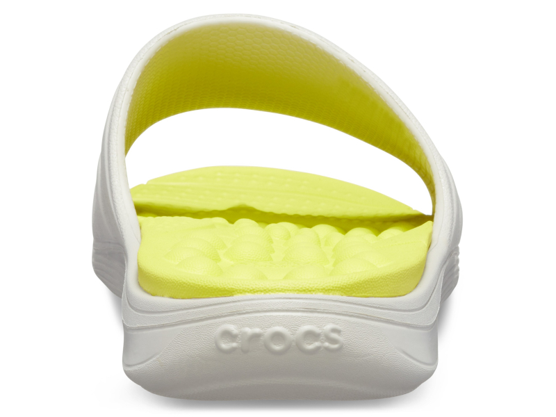 Crocs™ Reviva Slide Pearl White/Citrus