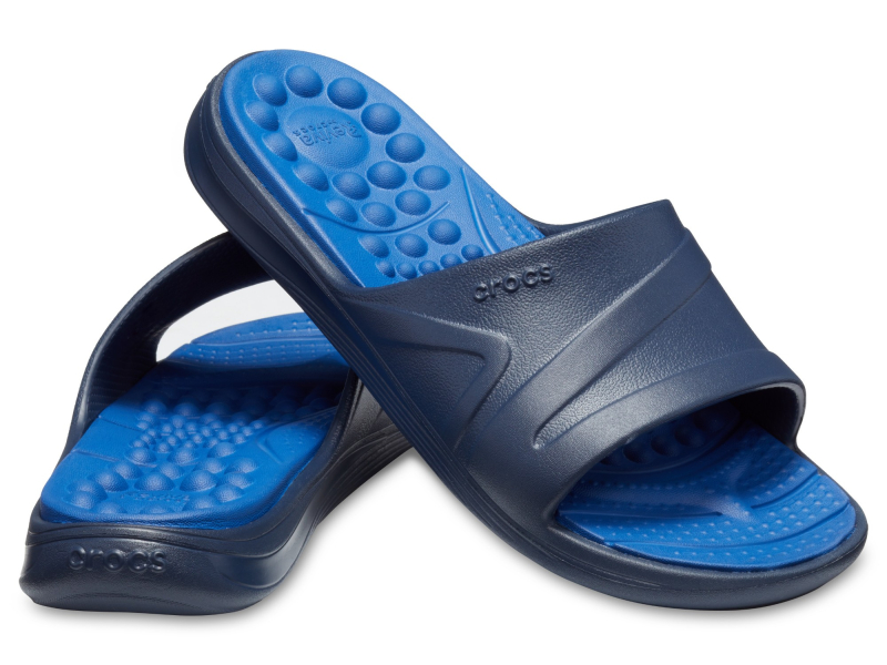Crocs™ Reviva Slide Navy/Blue Jean