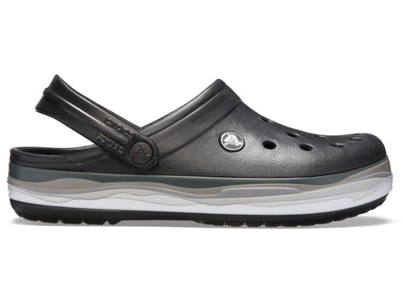 Crocs™ Crocband Wavy Band Clog Black/Multi