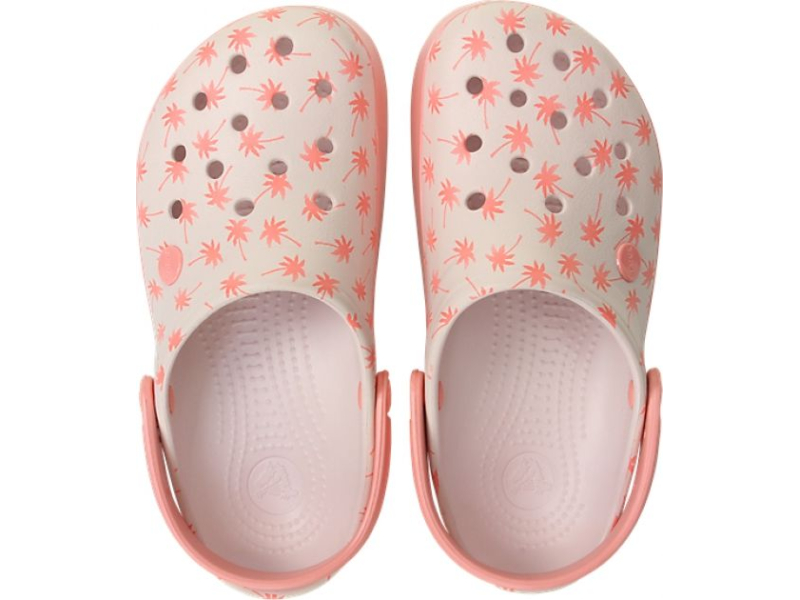 Crocs™ Crocband Seasonal Graphic Clog Barely Pink/Melon