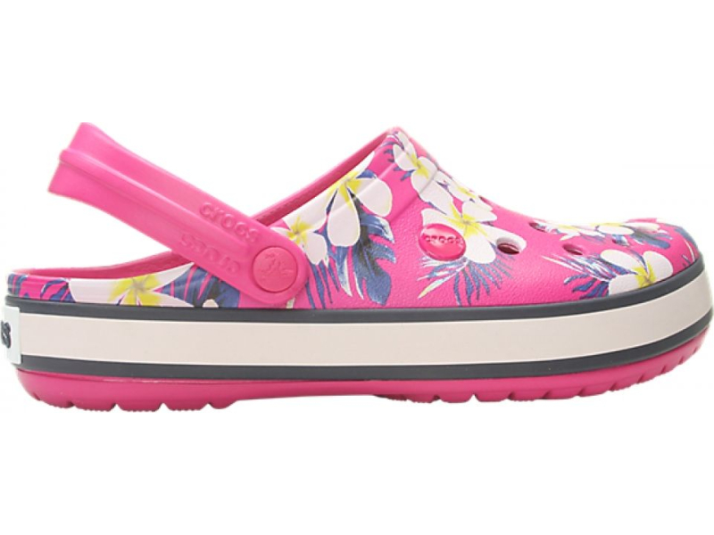 Crocs™ Crocband Seasonal Graphic Clog Candy Pink/Floral