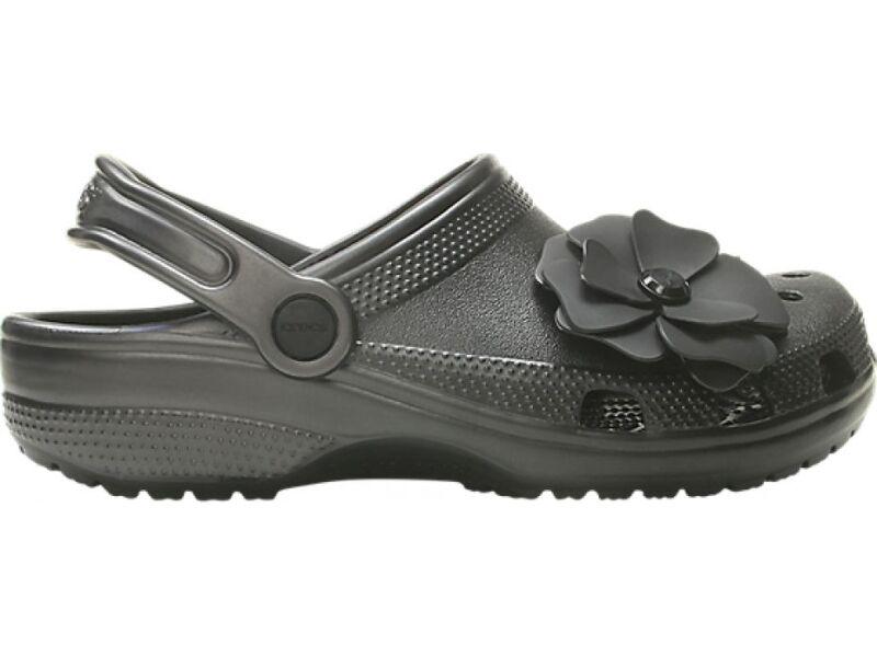 679c39d72 ... Crocs™ Classic Vivid Blooms Clog Black ...