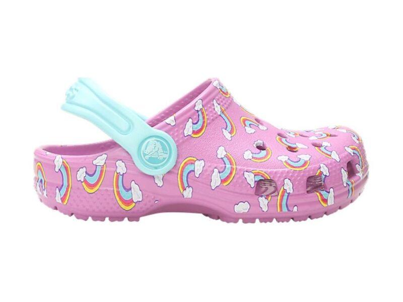 Crocs™ Classic Seasonal Graphic Clog Kid's Violet