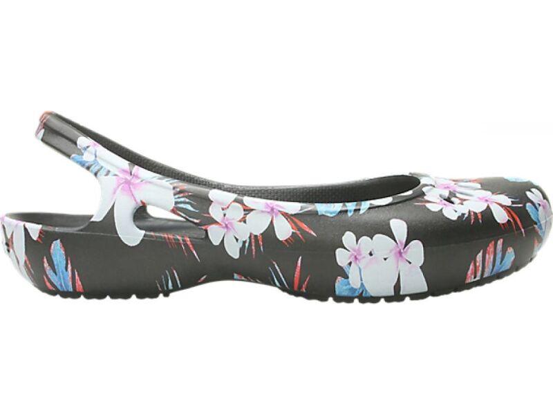 Crocs™ Kadee Seasonal Slingback Women's Tropical Floral/Black