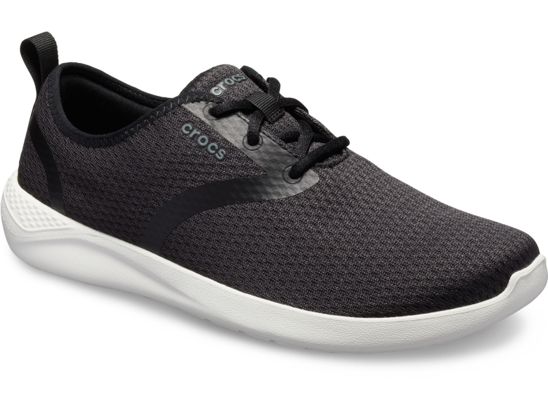 Crocs™ LiteRide Mesh Lace Men's Black/White