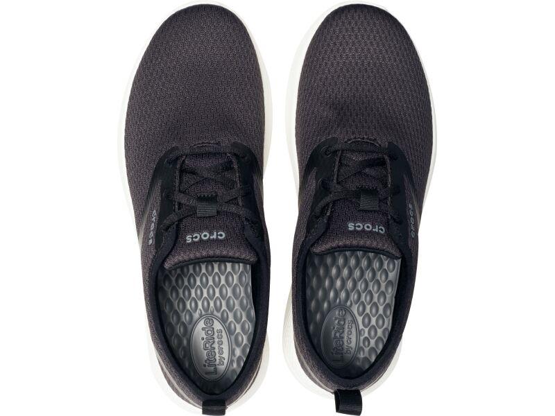 Crocs™ LiteRide Mesh Lace Men's Black/White