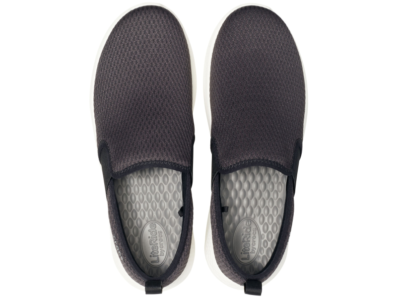 Crocs™ LiteRide Mesh Slip-On Men's Black/White