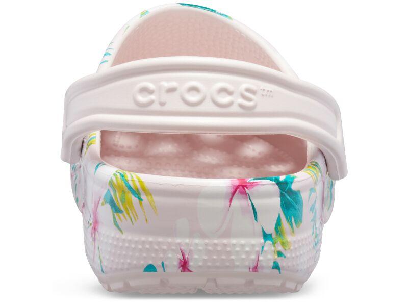 Crocs™ Classic Seasonal Graphic Clog Barely Pink/Floral