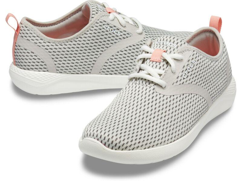 Crocs™ LiteRide Mesh Lace Women's Pearl White/White