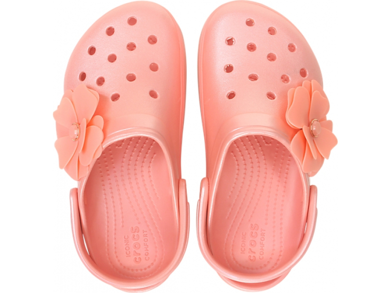 Crocs™ CB Platform Vivid Blooms Clog Melon