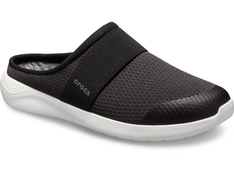 Crocs™ LiteRide Mesh Mule Men's Black/White