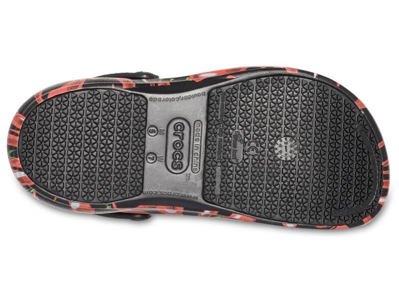 Crocs™ Bistro Peppers Clog Black/Red