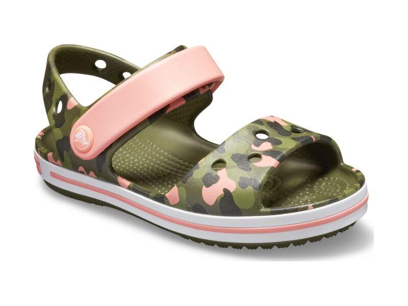 Crocs™ Crocband Seasonal Graphic Sandal Kid's Melon