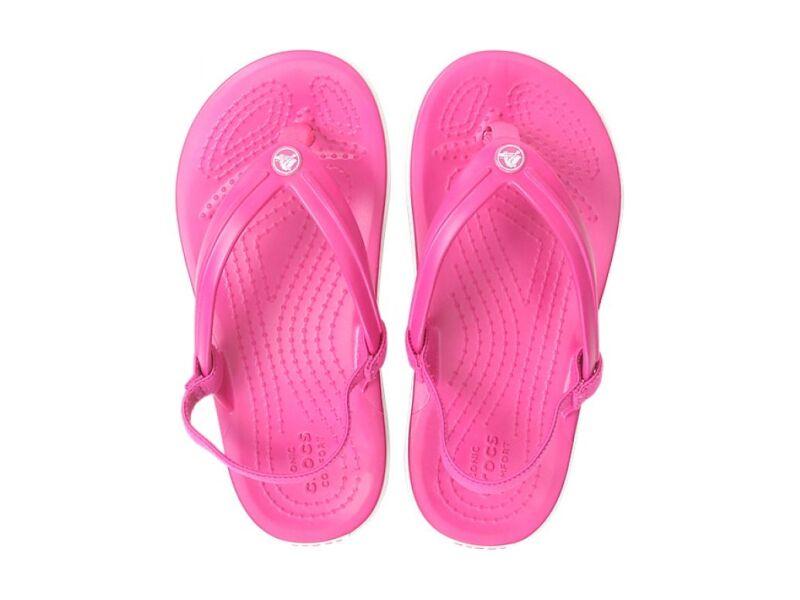 Crocs™ Crocband Strap Flip Kid's Candy Pink