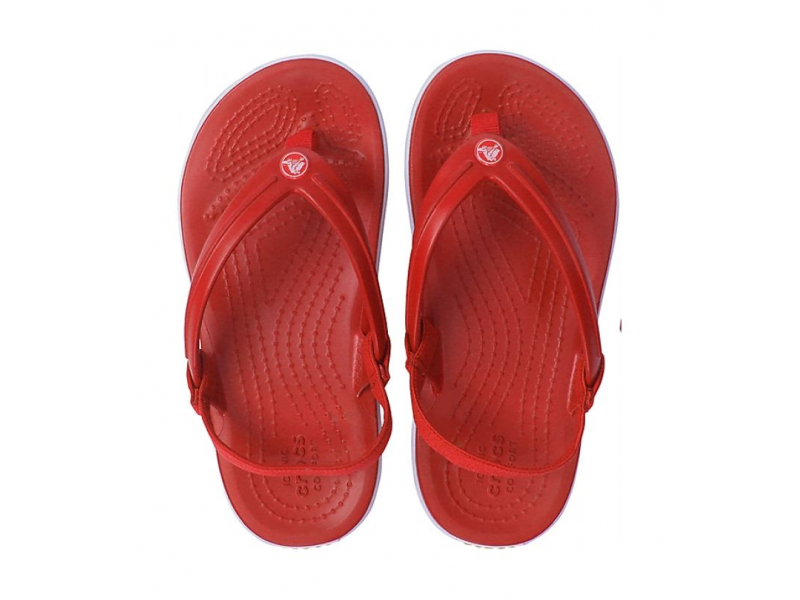 Crocs™ Crocband Strap Flip Kid's Pepper