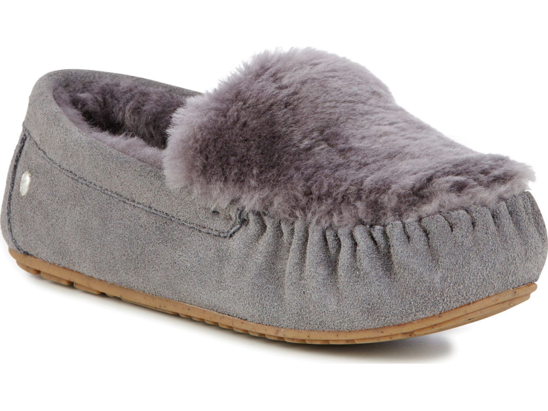 EMU Australia Cairns Reverse Fur Charcoal