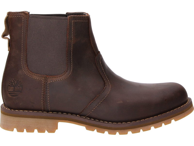 Timberland Larchmont Chelsea Dark Brown Full-Grain