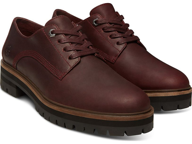Timberland London Square Oxford Burgundy Full-Grain