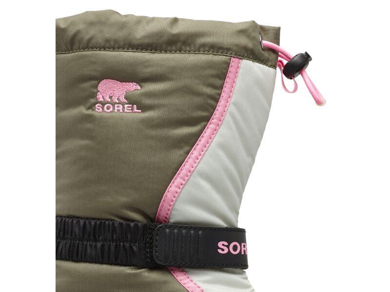 SOREL Flurry TP Hiker Green/Bubblegum