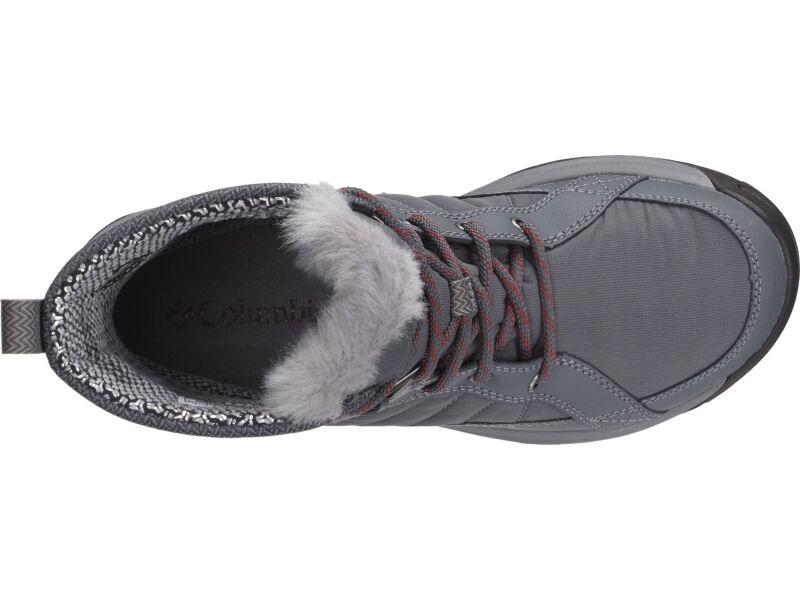 Columbia Meadows Shorty Omni-Heat TI Grey Steel/Marsala Red