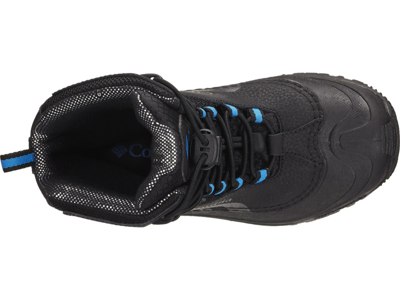 Columbia Youth Bugaboot Plus IV Omni-Heat Black/Hyper Blue