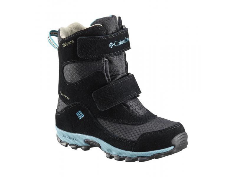 Columbia Parkers Peak Velcro Boot Black/Pacific Rim