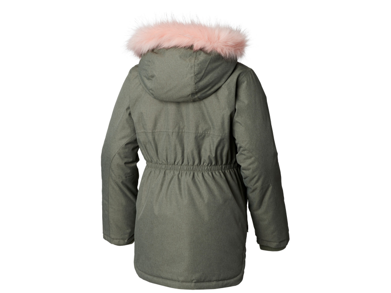 Columbia Carson Pass Mid Jacket Cypress Heather/Chalk