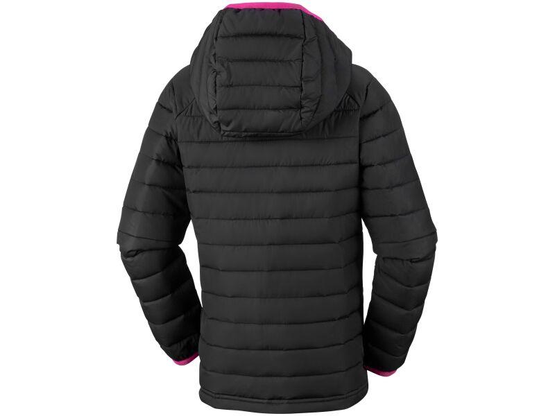 Columbia Powder Lite Girls Hooded Jacket Black