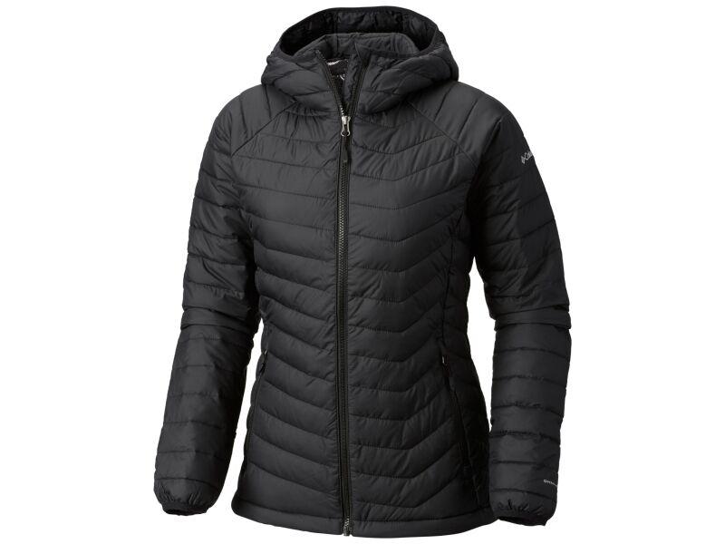 Columbia Powder Lite Hooded Jacket Black