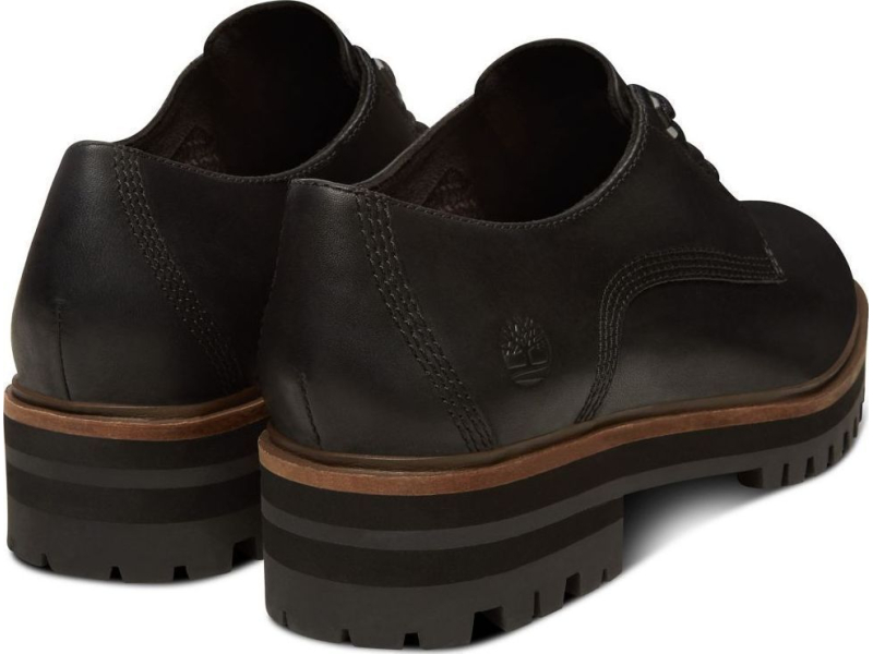 Timberland London Square Oxford Black Full-Grain
