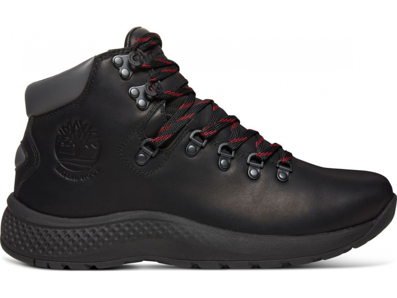 Timberland Aerocore Hiker Waterproof Men's Black Full-Grain