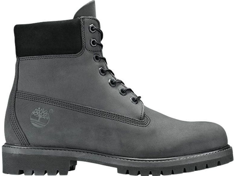 Timberland 6 In Premium Boot Junior's Dark Grey Nubuck A1O7Q