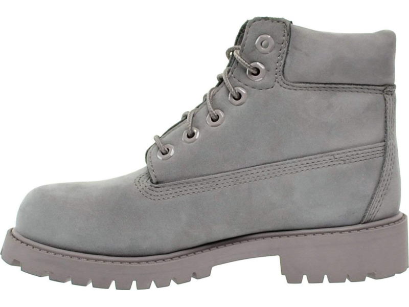 Timberland 6 In Premium Boot Junior's Grey Nubuck