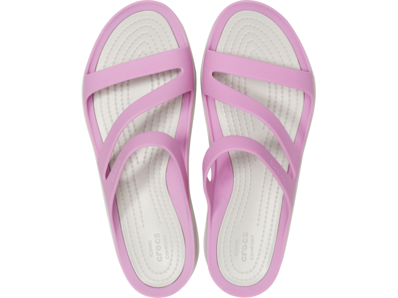 Crocs™ Women's Swiftwater Sandal Violet/Pearl White