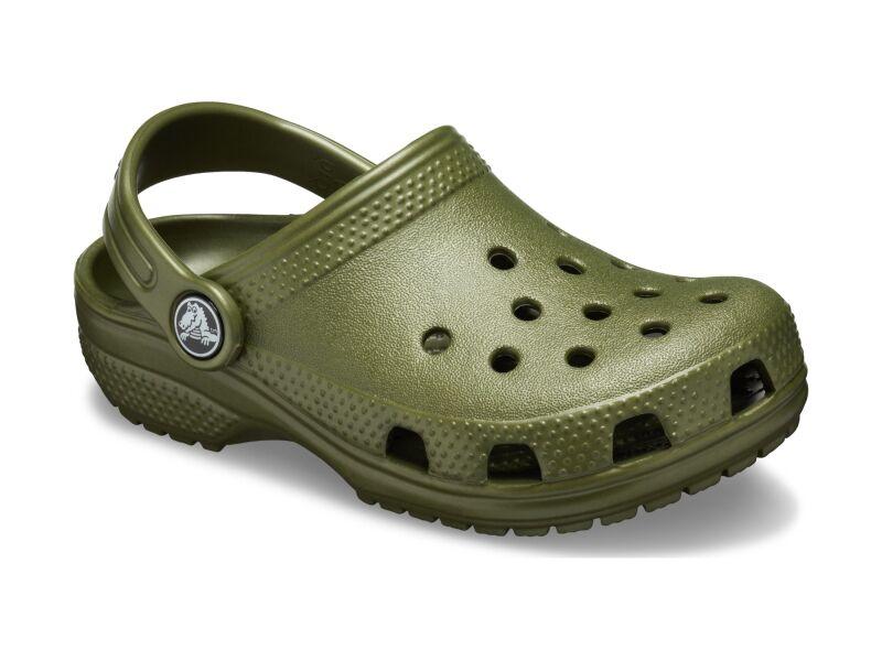 Crocs™ Kids' Classic Clog Army Green