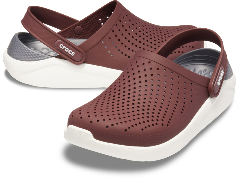 Crocs™ LiteRide Clog Burgundy/White