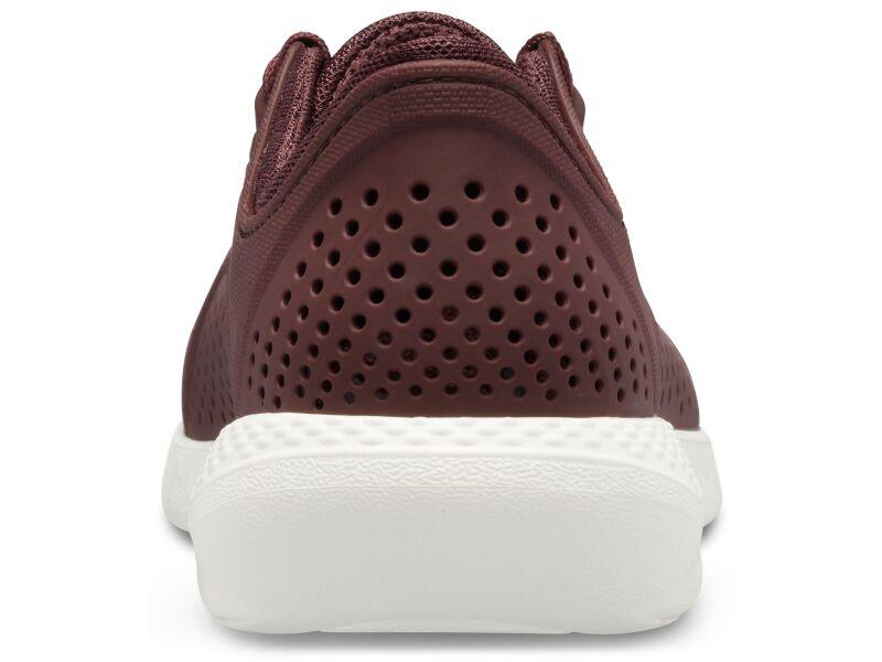 Crocs™ LiteRide Pacer Burgundy/White