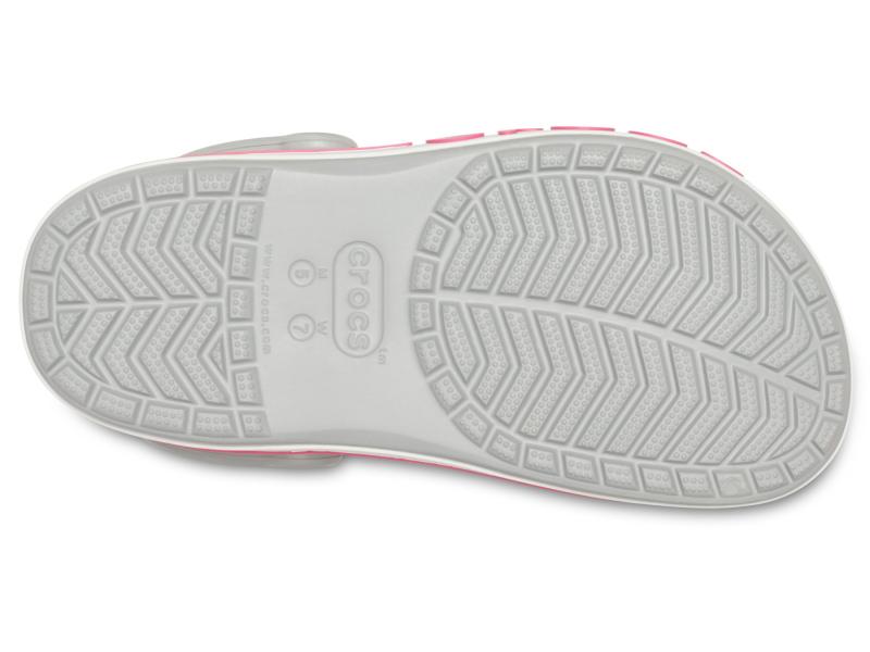 Crocs™ Bayaband Clog Light Grey/Candy Pink
