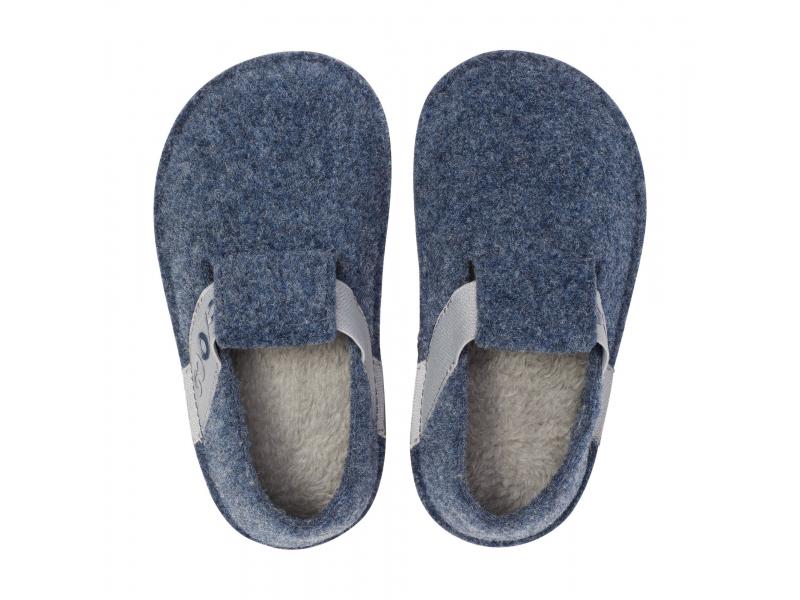 Crocs™ Kids' Classic Slipper Navy