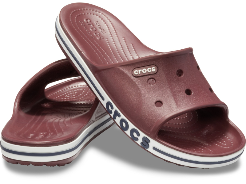 Crocs™ Bayaband Slide Burgundy/Navy